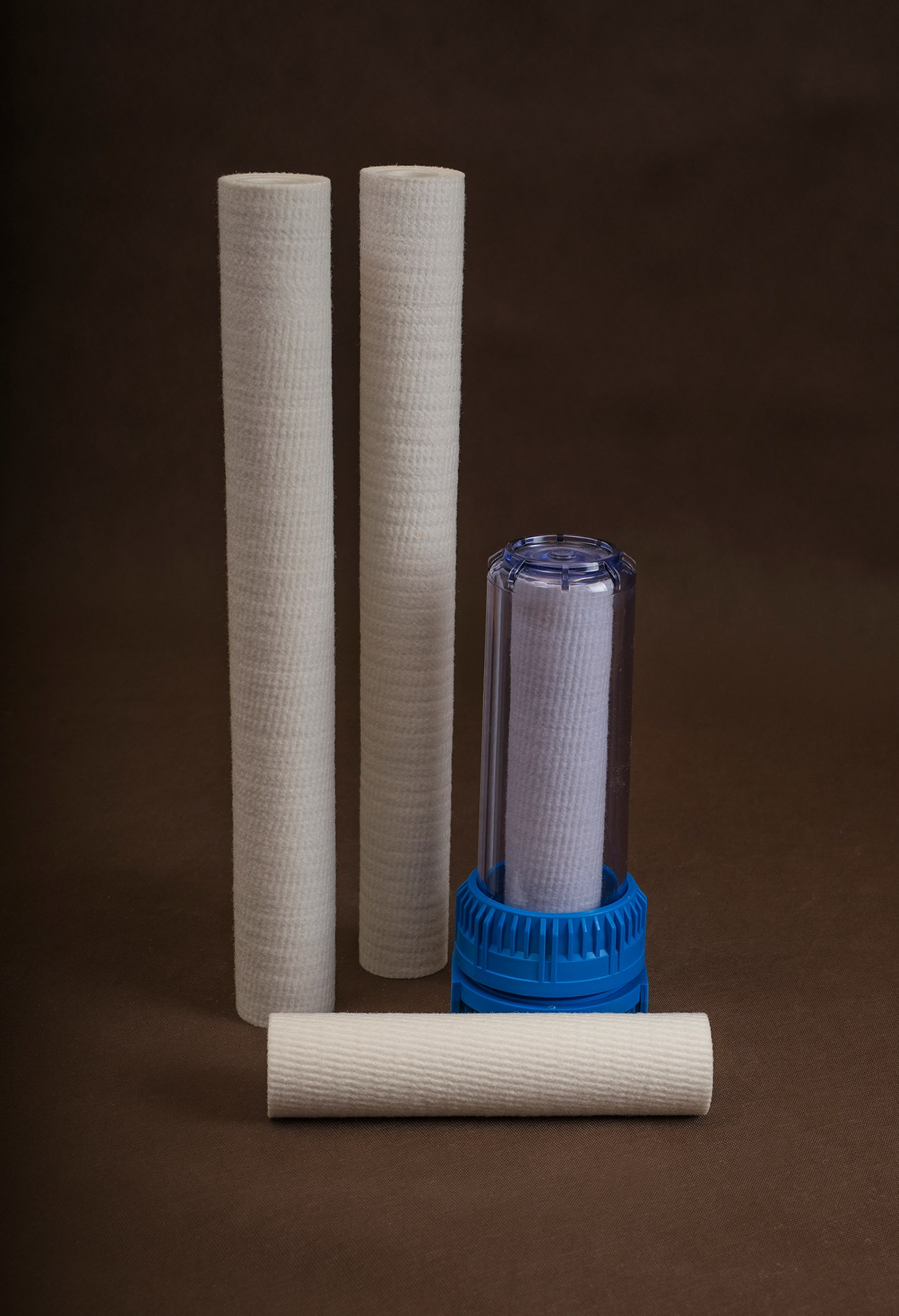 Candle filters to liquid filtration