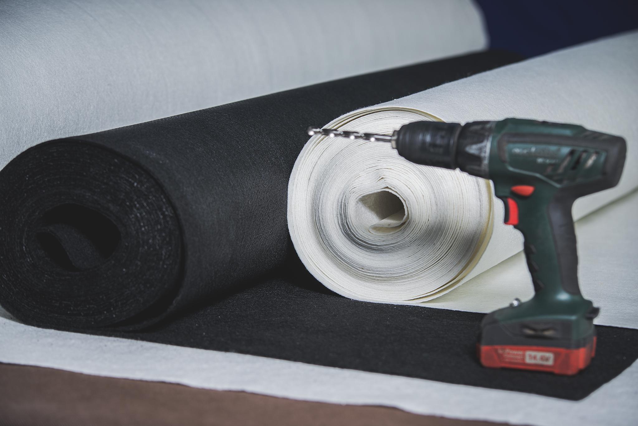 Tetőszigeteléshez elválasztó textília
